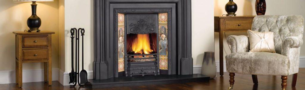Fireplace and mantelpiece